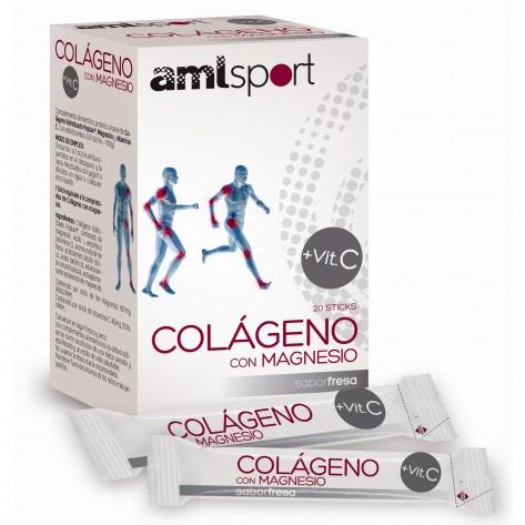 Colágeno hidrolizado COLÁGENO CON MAGNESIO AMLSPORT
