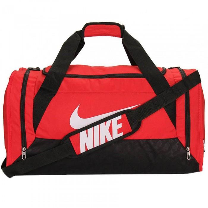 Bolsa BRASILIA 6 SMALL DUFFELGYM RED BLACK (WHITE) Nike Fitness ... 7f26966269e28