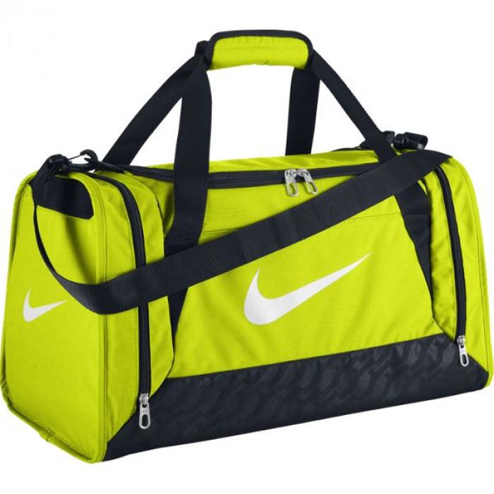 Bolsa BRASILIA 6 DUFFEL SMALLVOLT BLACK (WHITE) Nike Fitness  2e4dc5fd53ca7
