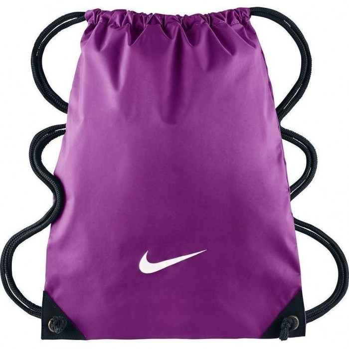 Bolsa FUNDAMENTALS SWOOSH GYMSACKCOSMIC PURPLE BLACK (WHITE) Nike ... b9e942a776962