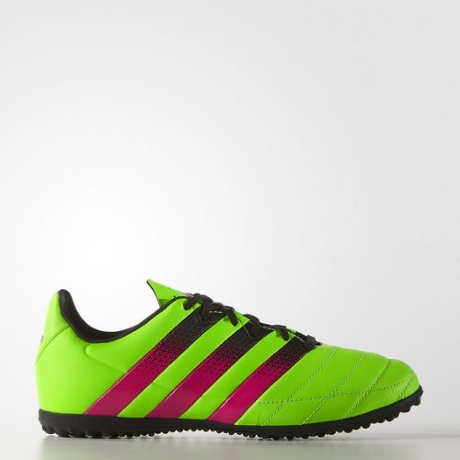 Botas ACE 16.3 TF J Leather VERSOL ROSI Adidas Fútbol  2c29a54bc4b73