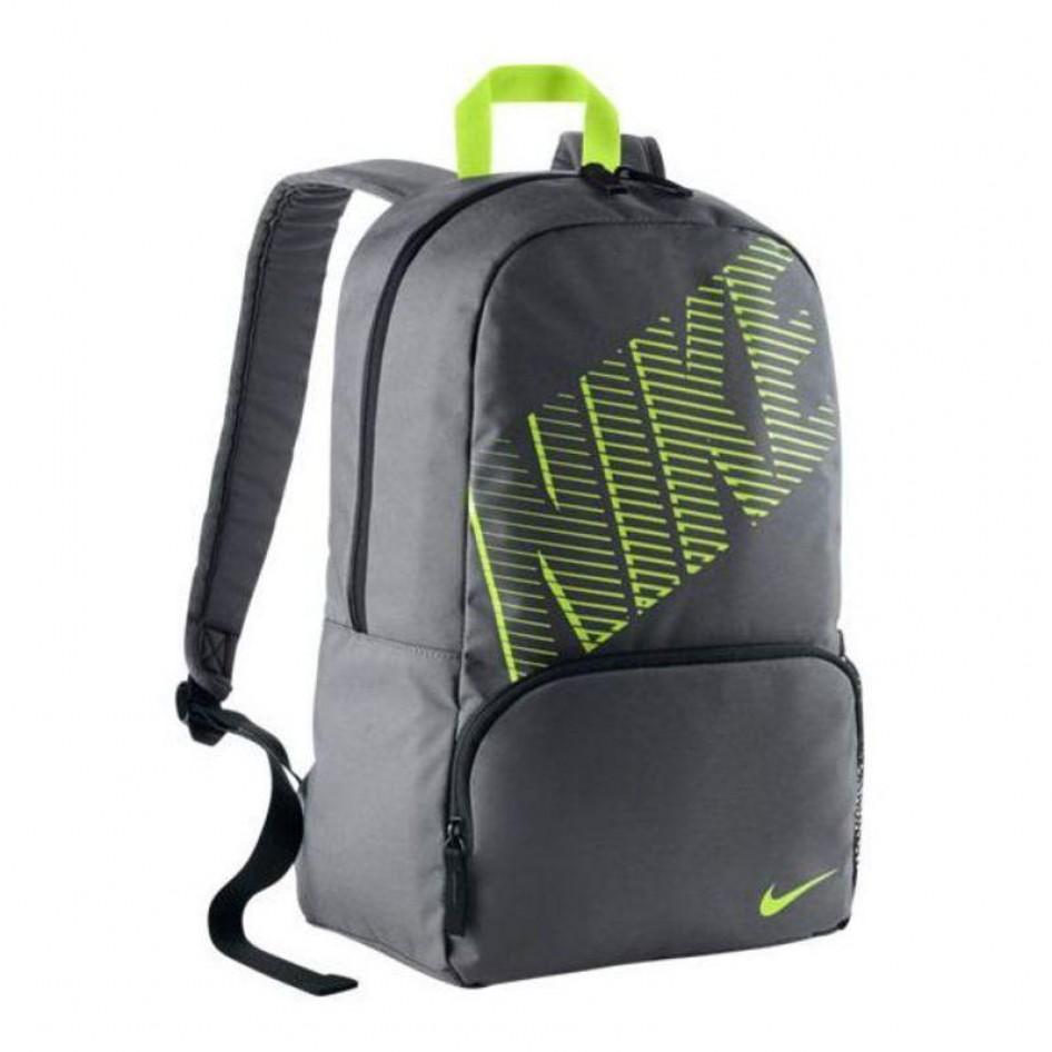Mochila NIKE CLASSIC TURFDARK GREY BLACK (VOLT) Nike Fitness  80b13eed59a