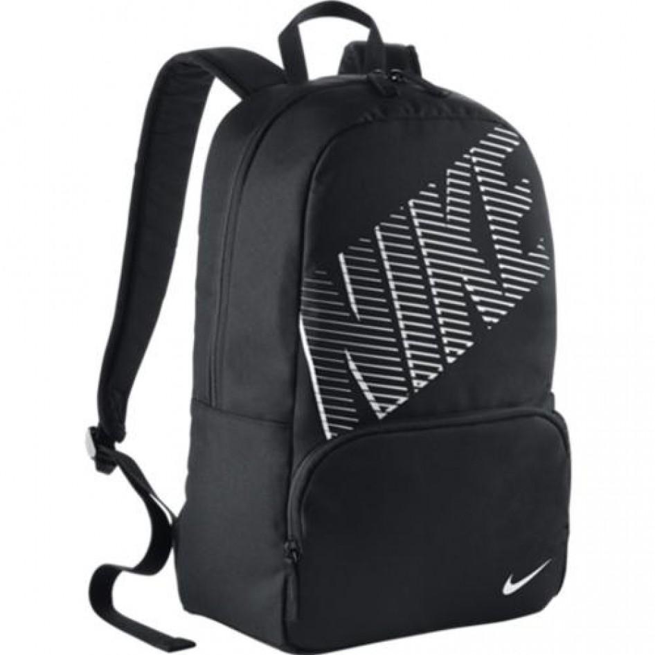 Mochila NIKE CLASSIC TURFBLK BLK (WHITE) Nike Fitness  027eaca887a