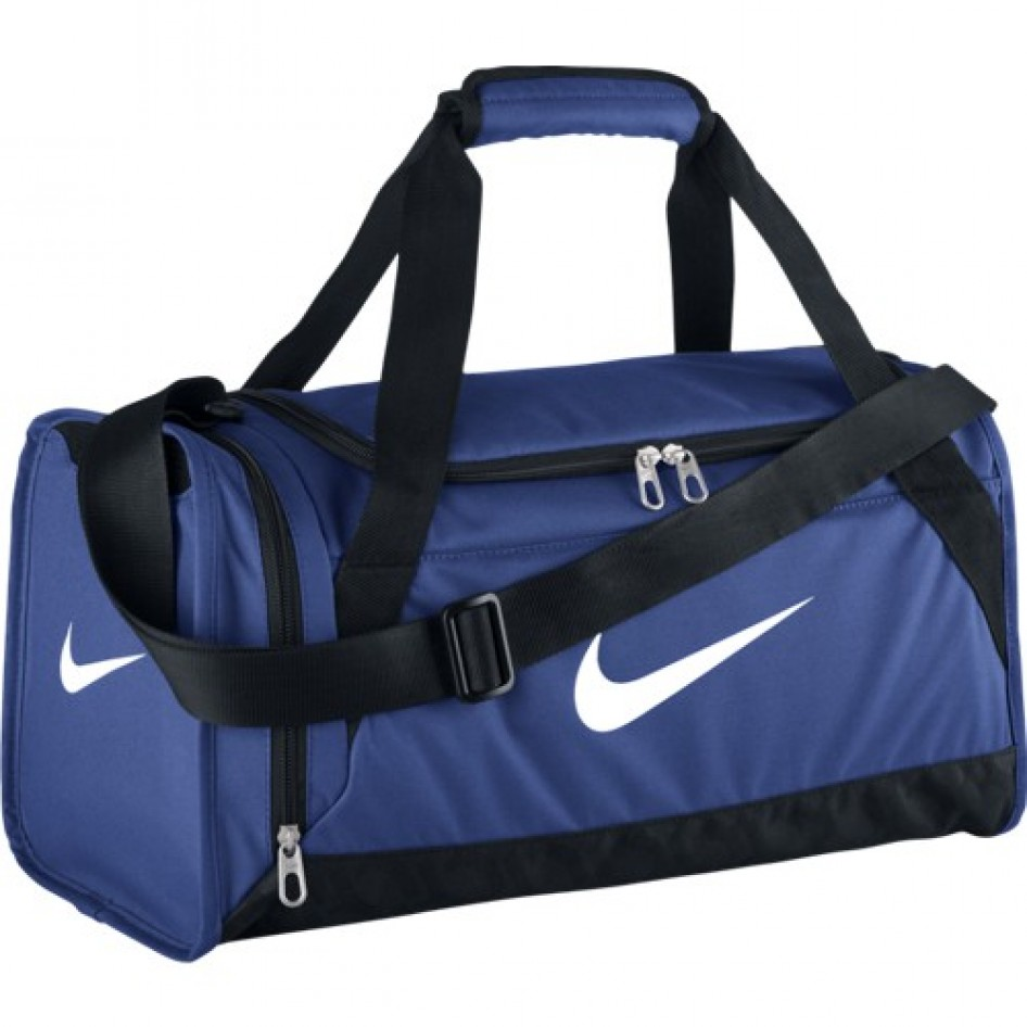 Bolsa BRASILIA 6 DUFFEL X SMALLGAME ROYAL BLACK (WHITE) Nike Fitness ... cd6e648dad6ec