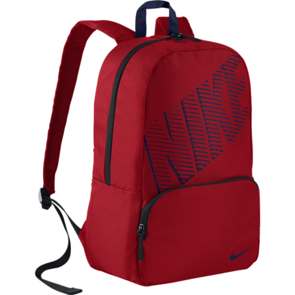 Mochila NIKE CLASSIC TURFUNIVERSITY RED BLACK LYLBLU) Nike Fitness ... 411d0482dad