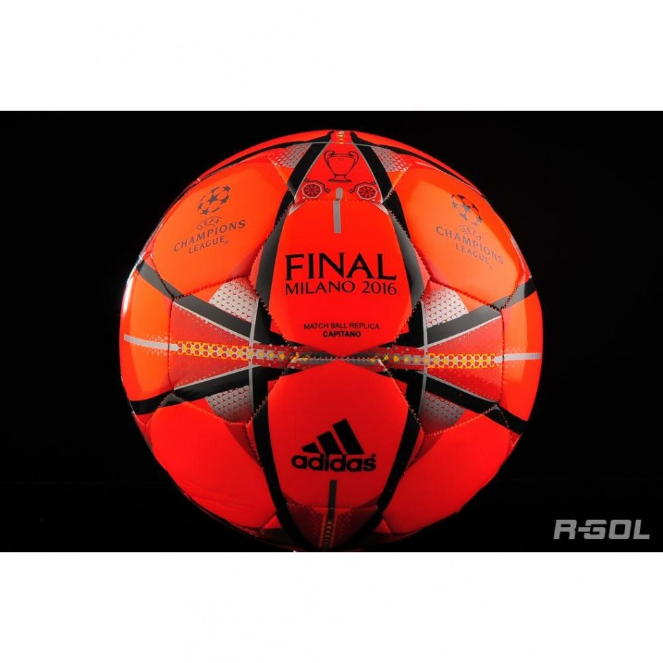 78edd8f899e54 Balón FINMILANO CAPESCARL NEGRO DORSOL Adidas Fútbol