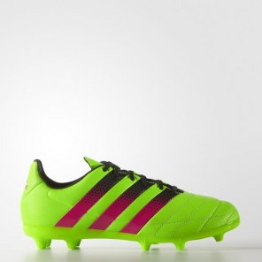 Botas ACE 16.3 FG/AG J Leather ADIDAS