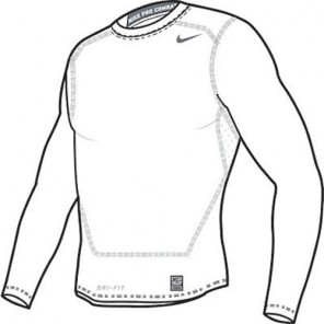 Camiseta CORE COMPRESSION LS TOP 2.0 NIKE